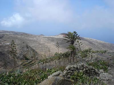 Volcanic Landscape Tenerife - Teno Alto 1 Art Print