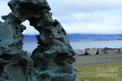 Photograph - Volcanic Reykjavik by Mary-Lee Sanders