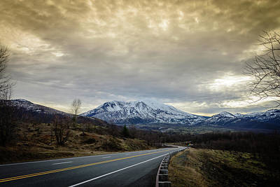 Photograph - Volcanic Road by Michael Scott