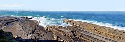 Photograph - Volcanic Rock At Penguin Head by Miroslava Jurcik