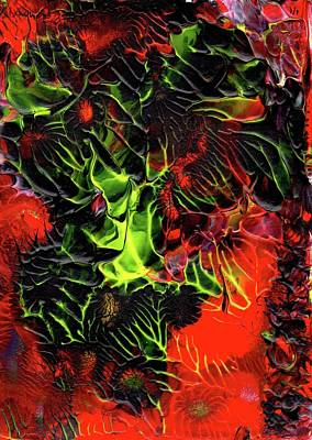 Painting - Volcanic by Stephen Zeigfinger