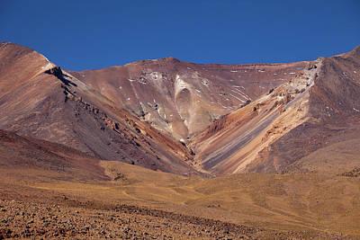 Volcano Crater In Siloli Desert Art Print