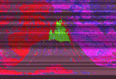 Volcano D4 Art Print by Modified Image