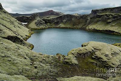 Photograph - Volcano Lake by Stuart Gordon