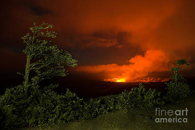 Photograph - Volcano National Park All Proceeds Go To Hospice Of The Calumet Area by Joanne Markiewicz