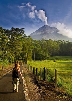 Photograph - Volcano Path by Rikk Flohr