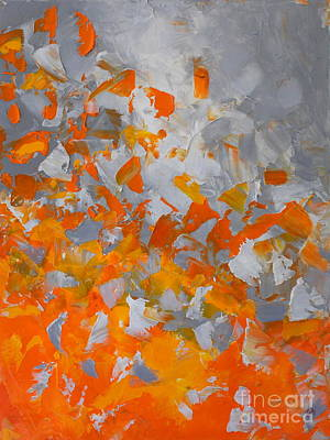 Painting - Volcano by Preethi Mathialagan