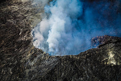 Photograph - Another View Of The Kalauea Volcano by Miles Whittingham