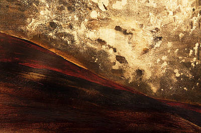 Painting - Volcano Sunrise by Tara Thelen - Printscapes