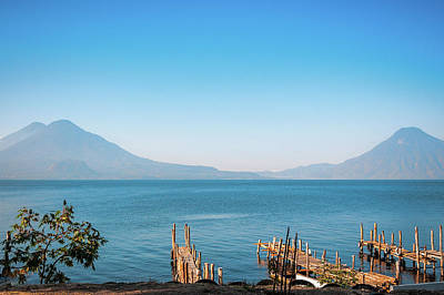 Photograph - Volcanos View At Lake Atitlan by Daniela Constantinescu