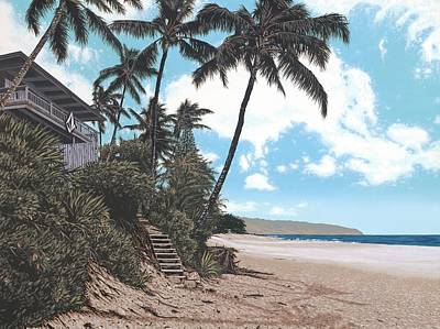 Volcom House Pipeline Art Print