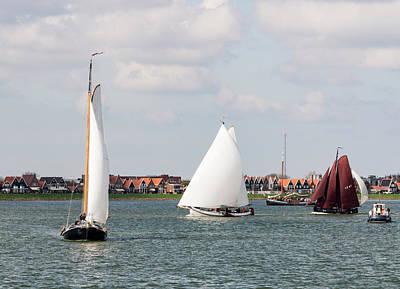 Photograph - Volendam Fleet by Bob VonDrachek