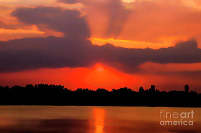 Photograph - Volga Sunset by Rick Bragan
