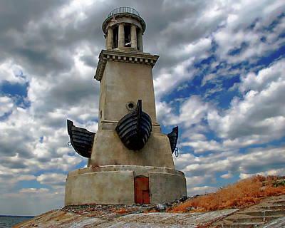 Photograph - Volgodonsk Lighthouse by Anthony Dezenzio