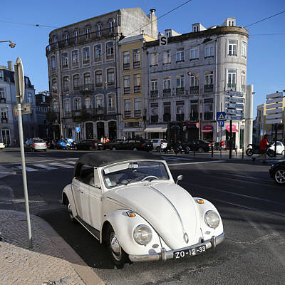 Photograph - Volkswagen Convertible by Andrew Fare