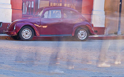 Photograph - Volkswagen Ghosts by Matthew Bamberg