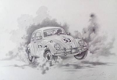 Volkswagen Herbie Original by Federico  De muro