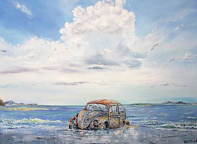 Volkswagen In Need Of T.l.c. Original by Joe Trodden