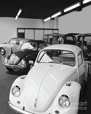 Aromatherapy Oils Royalty Free Images - Volkswagen Showroom - Mill St Garage, Stourbridge    Ref-524 Royalty-Free Image by William Hart