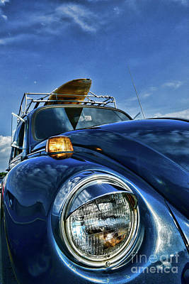 Volkswagen Surfs Up Art Print