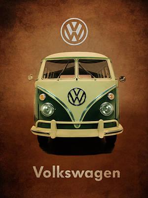 Volkswagen T1 1963 Art Print by Mark Rogan