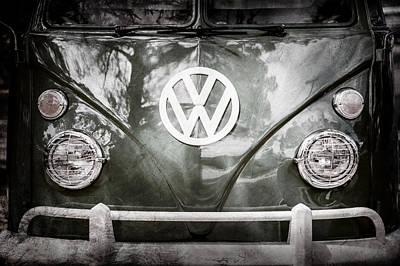 Photograph - Volkswagen Vw Bus -0108ac by Jill Reger