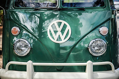 Photograph - Volkswagen Vw Bus -0108c by Jill Reger