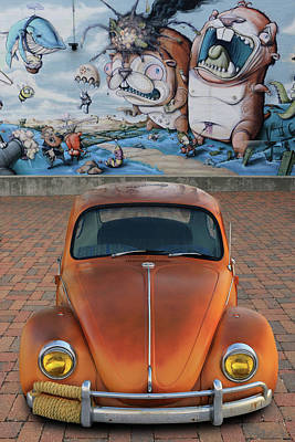 Photograph - Volkswagon Battle by Christopher McKenzie
