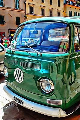Photograph - Volkswagon Pickup by Dorothy Berry-Lound
