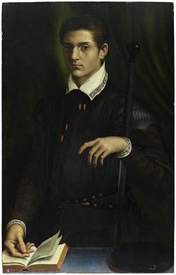 Coy Fish Michael Creese Paintings - VOLTERRA, DANIELE RICCIARELLI DA Volterra, Pisa, Toscana, 1509 - Roma, 1566 Miniatura autor Portrait by VOLTERRA DANIELE RICCIARELLI DA Volterra