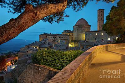 Photograph - Volterra Twilight by Brian Jannsen