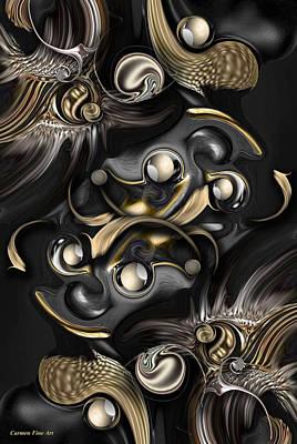 Digital Art - Volume With Formation by Carmen Fine Art