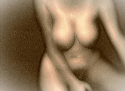 Nude Digital Art - Voluptuous Vixen by James Barnes