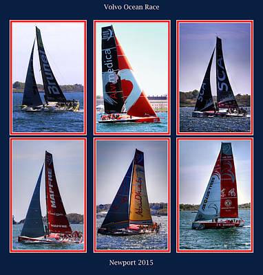 Volvo Ocean Race Newport 2015 Art Print