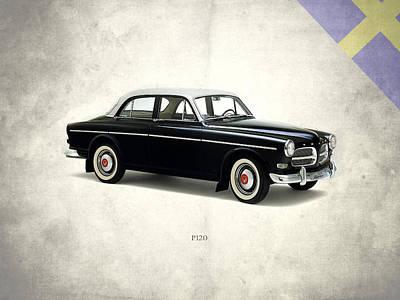 Volvo Photograph - Volvo P120 by Mark Rogan