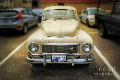Photograph - Volvo, The California Girlfriend by Craig J Satterlee