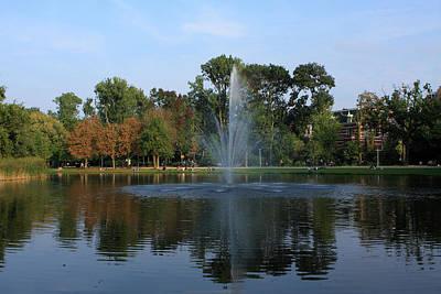 Photograph - Vondelpark Amsterdam by Aidan Moran