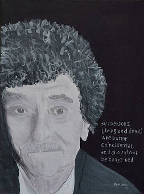 Vonnegut Print by Jay Van Loan