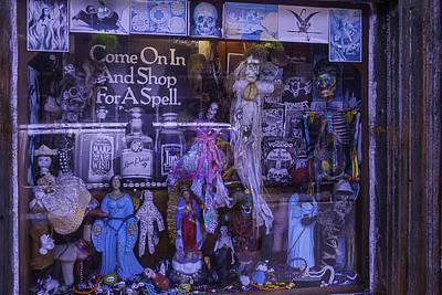 Voodoo Shop Photograph - Voo Doo Window by Garry Gay
