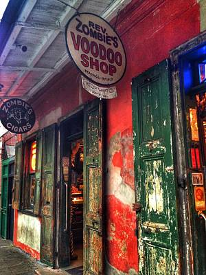 Voodo Photograph - Voodo Shop by Mark  Pritchard
