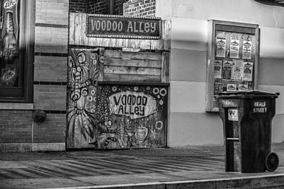 Cj Schmit Royalty-Free and Rights-Managed Images - VooDoo Alley by CJ Schmit