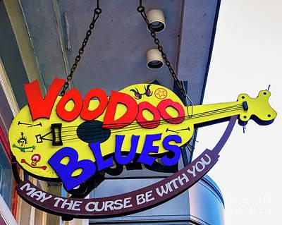 Voodoo Shop Photograph - Voodoo Blues - Nola by Kathleen K Parker