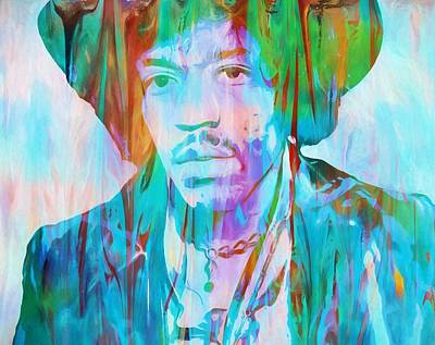 The 60s Painting - Voodoo Child by Dan Sproul