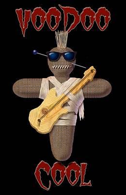 Digital Art - Voodoo Cool by WB Johnston
