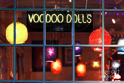 Photograph - Voodoo Dolls New Orleans by John Rizzuto