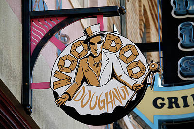 Photograph - Voodoo Doughnut by Art Block Collections
