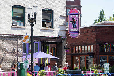 Photograph - Voodoo Doughnut Portland Oregon 5d3698 by Wingsdomain Art and Photography