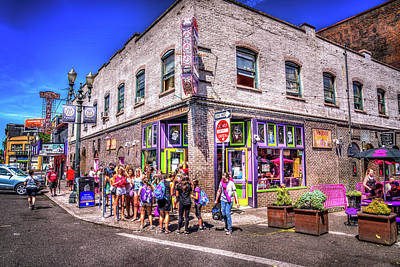 Photograph - Voodoo Doughnut - Portland by Spencer McDonald