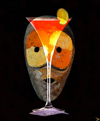 Painting - Voodoo Martini by David Lee Thompson