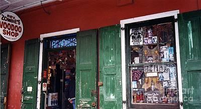 Voodoo Shop Photograph - Voodoo Shop by Bob Bennett